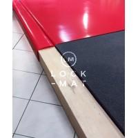 Комплект : борцовский ковер 10м х 10м, борцовские маты 40 мм