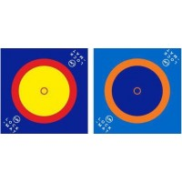 "Борцовский ковер Puzzle Velcro 10м х 10м, маты 4 см, крепление ""липучка"""
