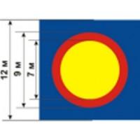 Борцовский ковер трехцветный
