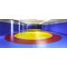 Борцовский ковер с олимпийскими кругами 6м х 6м