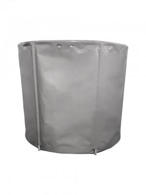 Складная емкость для воды на 2500 л с каркасом