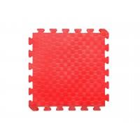 Детский коврик - пазл 30см х 30см , толщина 1 см, красный