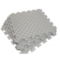 Детский коврик - пазл 50см х 50см , толщина 1 см, с бортиком, серый