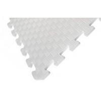Детский коврик - пазл 30см х 30см , толщина 1 см, белый