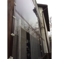 Мягкие окна для балкона