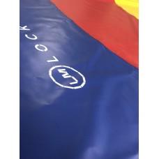 Борцовский ковер с кругами 10м х 10м, маты 50 мм