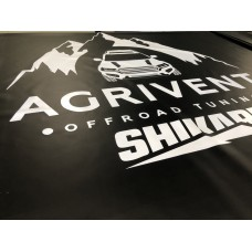 Борцовское покрытие с нанесением логотипов
