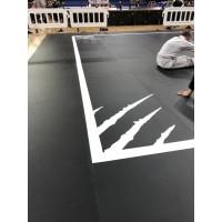 РОЛЛ-Маты спортивные , 40 мм, цвет- черный