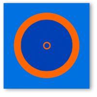 Борцовский ковер с олимпийскими кругами 8м х 8м (покрытие)