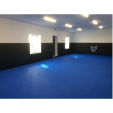 Спортивные РОЛЛ- маты для джиу-джитсу, 40 мм , 12м х 12м