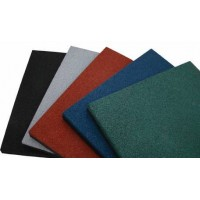 Резиновые плиты для спортивного зала