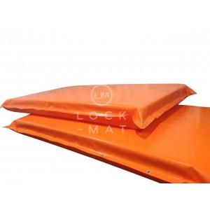 Маты защитные для горнолыжных спусков, толщина 10 см