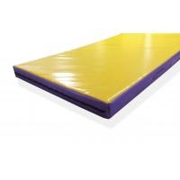 Спортивный мат гимнастический 2м х 1м, толщина 10 см (чехол ПВХ)