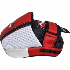 Лапы боксерские RDX Leather Red
