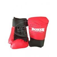 Перчатки боксерские 4 унций (кожвинил)