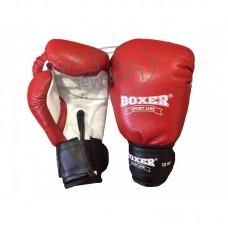 Перчатки боксерские 12 унций (кожа)