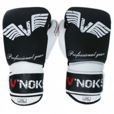 Боксерские перчатки V`Noks Aria White 12 ун.
