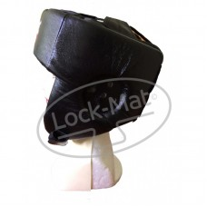 Боксерский шлем Кожа