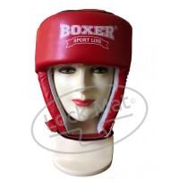 Боксерский шлем Элит Кожа