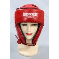 Боксерский шлем Элит Кожвинил