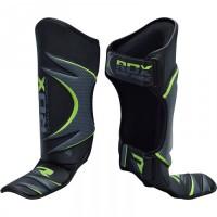 Накладки на ноги, защита голени RDX Green S/M