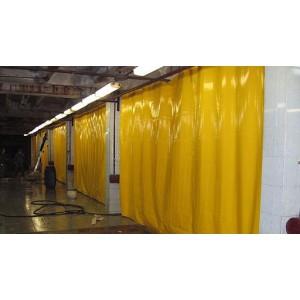 Промышленные шторы из ПВХ , шторы для автомойки